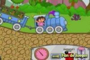 O trem de Dora the Explorer