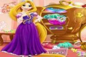 Free Rapunzel clean your room Game