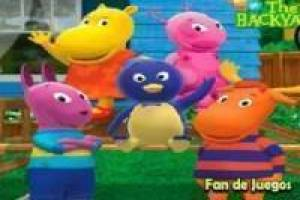 Backyardigans find the hidden stars