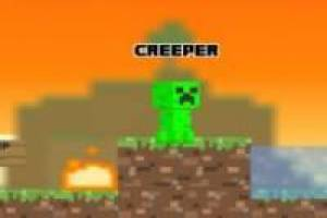 Juego Creep craft 2 minecraft Gratis
