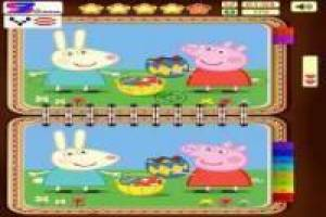 Trova il maiale differenza Peppa