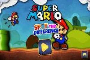 Super Mario: Trova le differenze