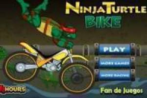 Ազատ Ninja Turtles: Motocross Խաղալ