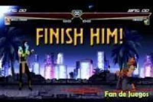 Mortal Kombat vs Street Fighter 3: animasjon