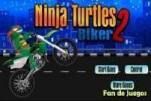 Ազատ Ninja Turtles: motocross 2 Խաղալ