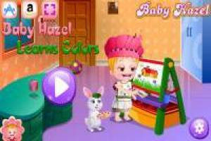 Baby Hazel: Learn the colors