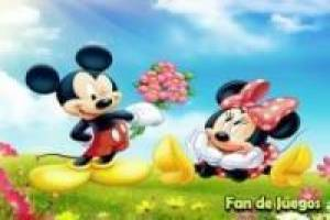 Mickey saves mimmie