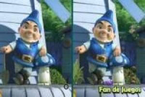 Spot the difference of Gnomeo and Juliet 3D