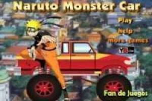 Free Naruto monster car Game