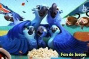 Juego Rio 2, movie puzzle Gratis