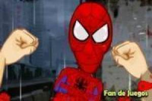 Fight spiderman