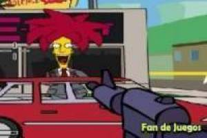 Free Simpsons Bart kills the wicked Game