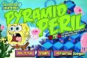 SpongeBob in the pyramid
