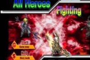 All Heroes Fighting