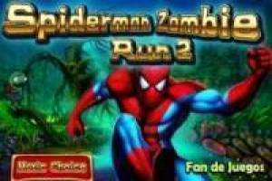 Zombie Spiderman corre 2