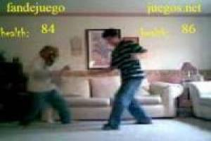 Real fights in the living room