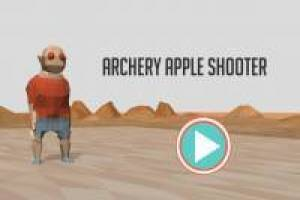Shoot arrows to the apple