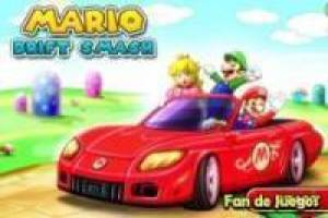 Mario afdrift smash