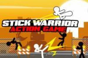 Stick Warrior: Action-Spiel