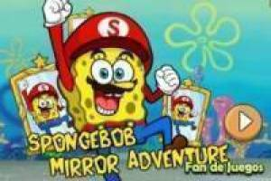 Spongebob and magic mirrors