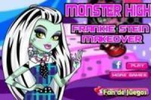 Make-up bij Monster High