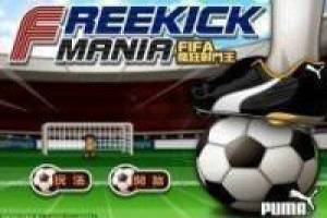 Free Freekick Mania FIFA Game