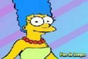 Simpsons: Dress up marge