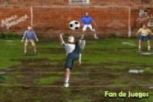 Football: Volley