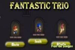 Mario, Sonic and Aladdin a great threesome