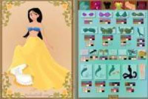 Creating disney princesses