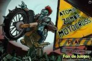 Motocross nuclear para zombies
