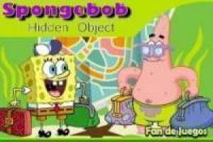 SpongeBob looks for the camouflaged objects