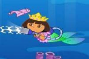 Dora the Explorer sauberer Strand