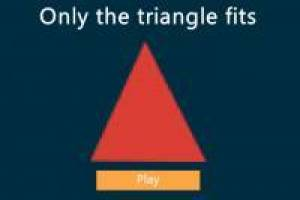 Only The Triangle Fits