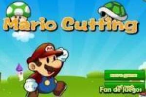 Free Mario cutting Game