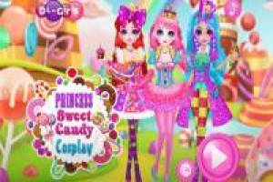 Dress up girls as candy