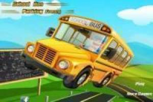 حر School bus parking frenzy لعب
