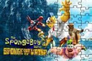 SpongeBob a hero out of the water: Puzzle