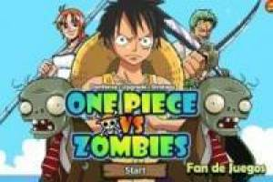 Juego One Piece vs zombies Gratis