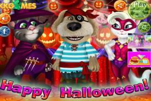 Talking Tom and Angela: Halloween Party