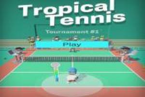Tropisches Tennis