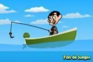 Mr.bean fishing
