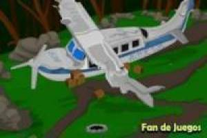 Escape from crashed plane