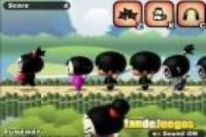 Pucca running