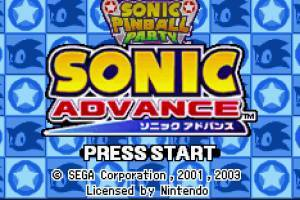 Sonic Advance & Sonic Pinball Party (Rising Sun)