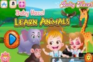 Baby Hazel: Learn the animals