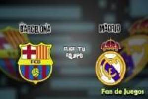 Barcelona vs ​​Madrid futbol