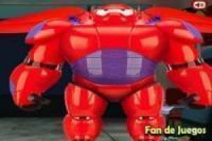 Crear a baymax de big hero 6