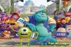 Juego Monsters university spin puzzle Gratis