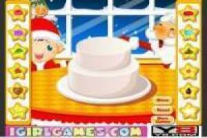 Creating a fun Christmas cake